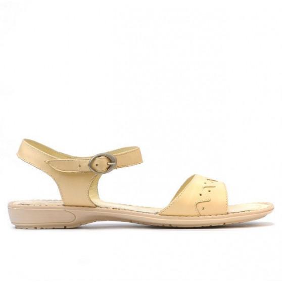 Women sandals 590 beige
