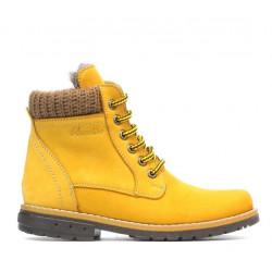 Children boots 3209 bufo yellow