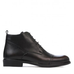 Men boots 4104 a brown
