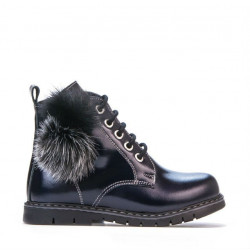 Small children boots 38c patent indigo