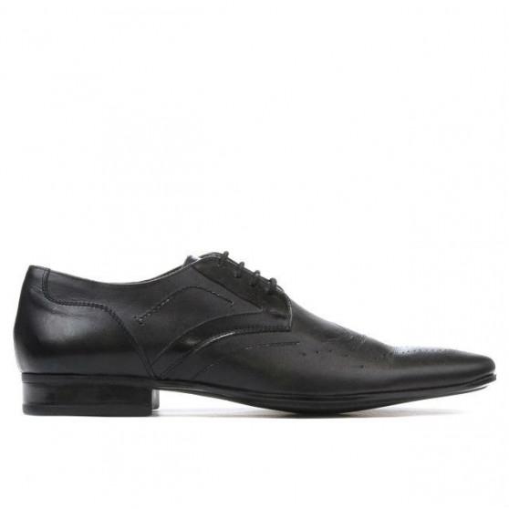 Men stylish, elegant shoes 800 black