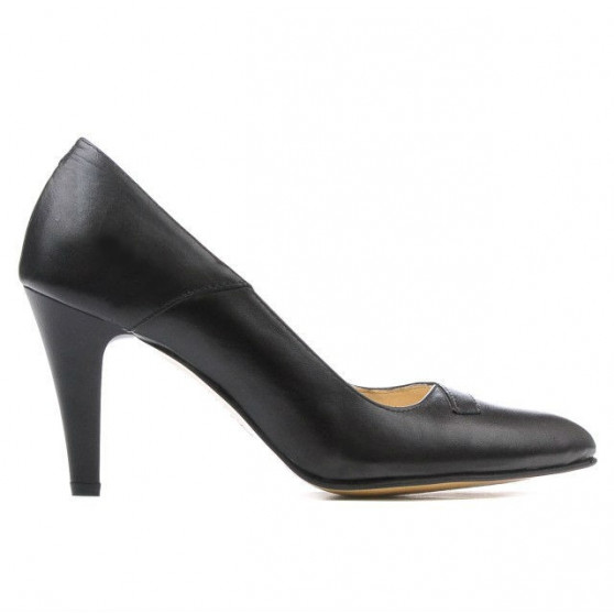 Women stylish, elegant shoes 1231 black