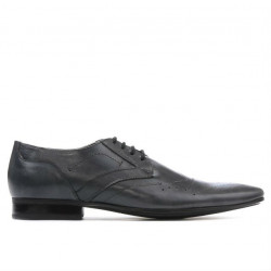 Men stylish, elegant shoes 800 gray