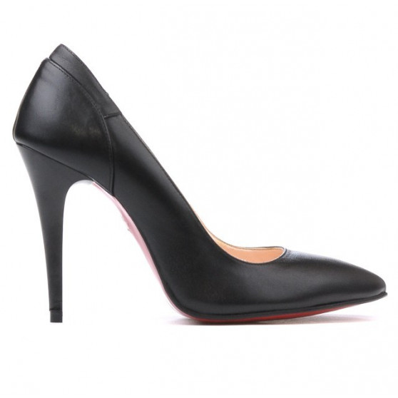 Women stylish, elegant shoes 1230 black