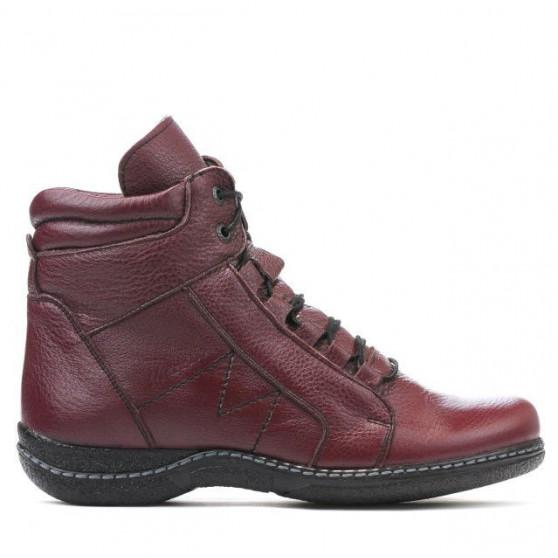 Women boots 3280 bordo
