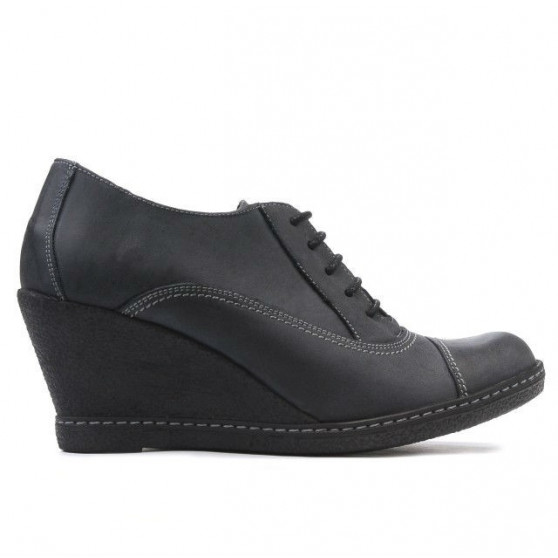Pantofi casual dama 609 tuxon negru