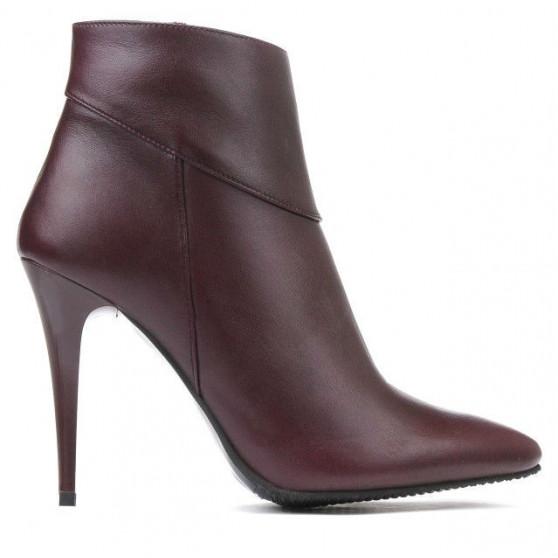 Women boots 1154 bordo