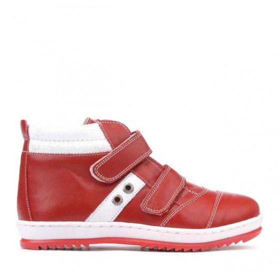 Children boots 3207 red+white