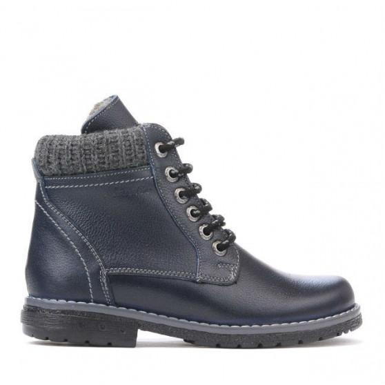 Children boots 3209 indigo