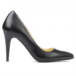 Women stylish, elegant shoes 1246 black