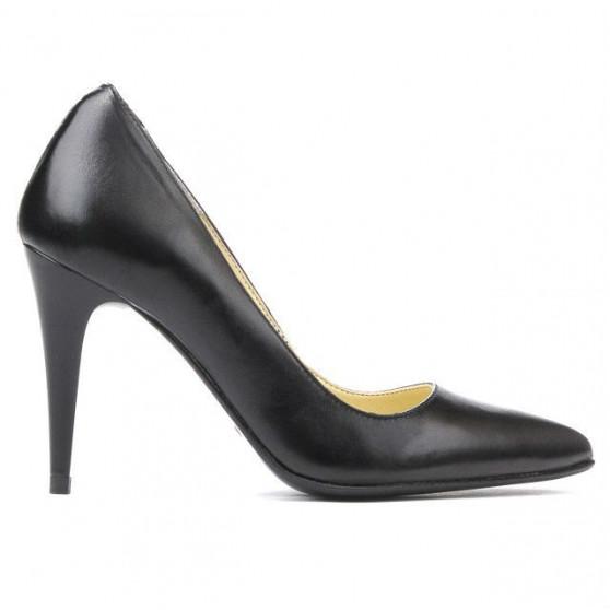 Women stylish, elegant shoes 1246 black