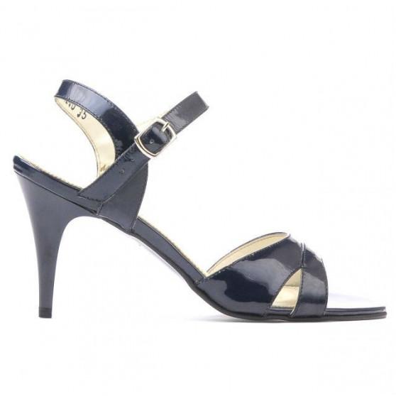 Women sandals 1240 patent indigo