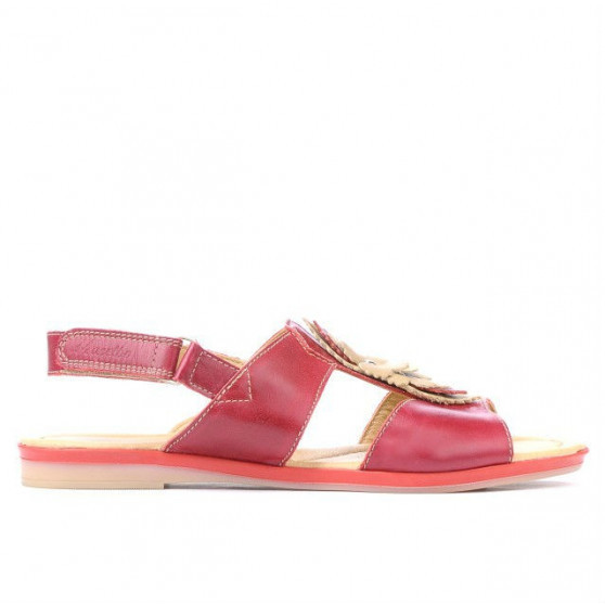 Women sandals 5009 red