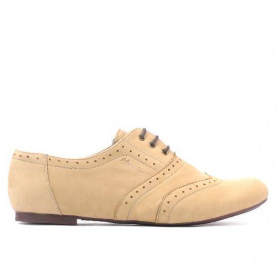 Pantofi casual dama 186 bufo nisip