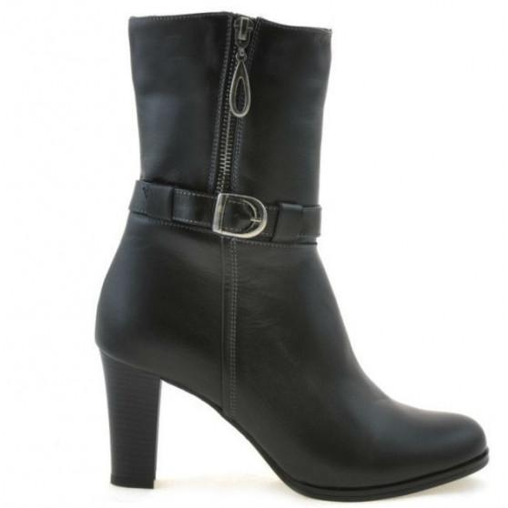 Women knee boots 1147 black