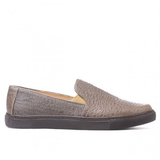 Women sport shoes 658 croco sand