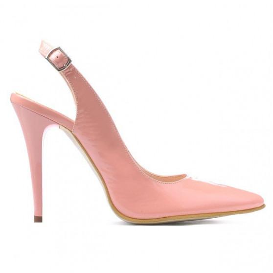 Women sandals 1235 patent pink