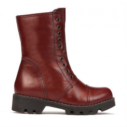 Small children boots 39c bordo