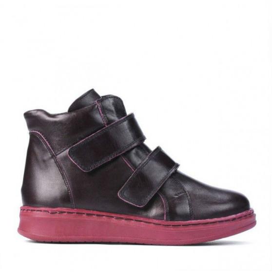Children boots 3012 bordo