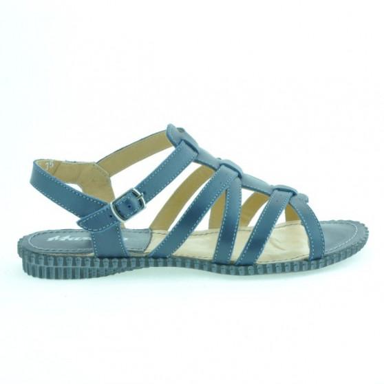 Women sandals 595 indigo