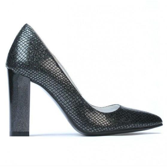 Women stylish, elegant shoes 1261 piton black