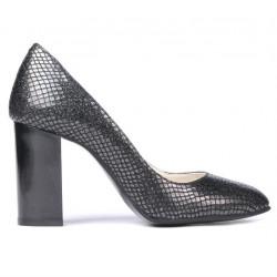 Women stylish, elegant shoes 1269 piton black