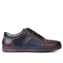Men sport shoes 849 bordo+indigo