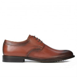 Pantofi eleganti barbati 839 a coniac