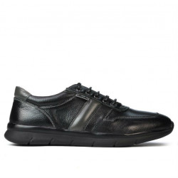 Pantofi sport barbati 885 negru+gri