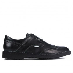 Men casual shoes (large size) 7204m black