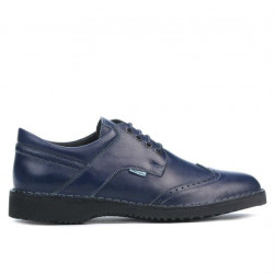 Men casual shoes (large size) 7204m indigo