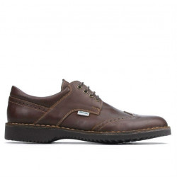 Men casual shoes (large size) 7204m brown