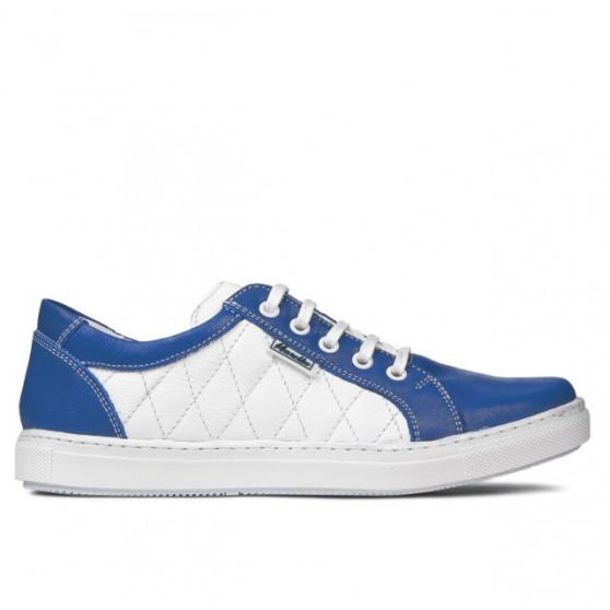Pantofi sport dama 648 indigo+alb