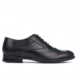 Pantofi eleganti adolescenti 393 negru