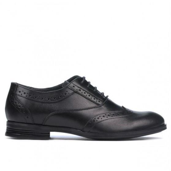 Teenagers stylish, elegant shoes 393 black