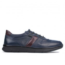 Men sport shoes 885 indigo+bordo