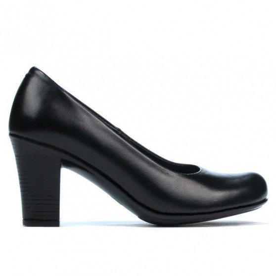 Women stylish, elegant, casual shoes 643 black