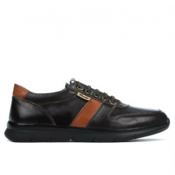 Men sport shoes 885 cafe+brown