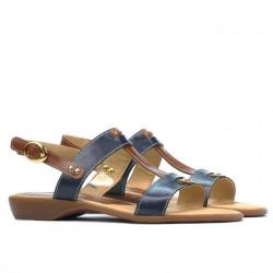 Sandale dama 5048 indigo combinat