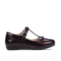 Small children shoes 63c patent bordo