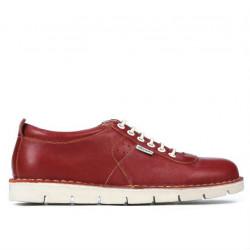 Pantofi casual dama 7005 rosu