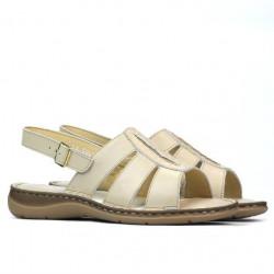 Sandale dama 5043 bej