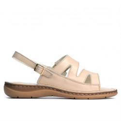 Sandale dama 5044 bej