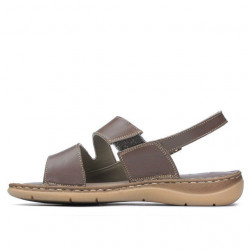 Women sandals 5044 cappuccino