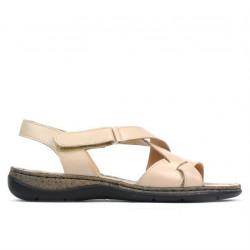 Women sandals 5047 beige