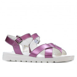 Sandale dama 5049 roz sidef