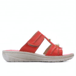 Women sandals 5045 red coral