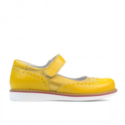 Children shoes 153 yellow combined