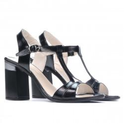 Sandale dama 5055 lac negru