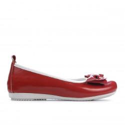 Pantofi copii 141 lac rosu
